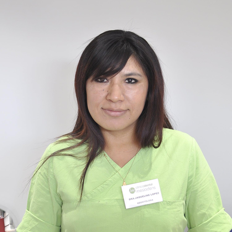 Dra. JAQUELINE LÓPEZ AGUILAR